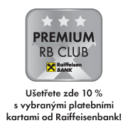 Ušetřete zde 10 % s vybranými platebními od Raiffeisenbank!