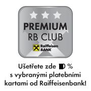 Ušetřete zde 5 % s vybranými platebními od Raiffeisenbank!